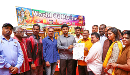 World Of Divine award winning team